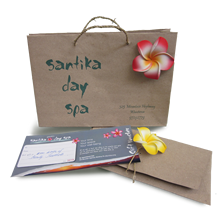 Gift voucher for Santika Day Spa Melbourne