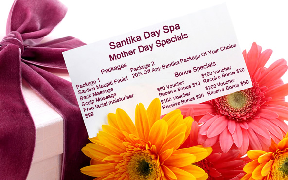 Mothers Day 2017 - Santika Day Spa Specials